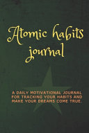 Atomic Habits Journal