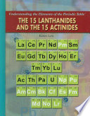 The 15 Lanthanides and the 15 Actinides Book