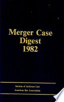 Merger Case Digest 1982