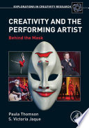 Creativity and the Performing Artist Book