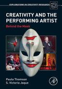Creativity and the Performing Artist Pdf/ePub eBook