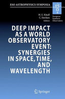 Deep Impact as a World Observatory Event: Synergies in Space, Time, and Wavelength [Pdf/ePub] eBook