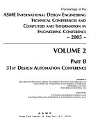 Proceedings of the     ASME Design Engineering Technical Conferences Book