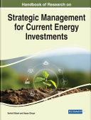 Strategic Management for Current Energy Investments