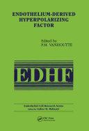Endothelium Derived Hyperpolarizing Factor