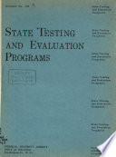 State Testing and Evaluation Programs Book