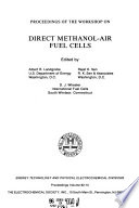 Proceedings of the Workshop on Direct Methanol Air Fuel Cells Book