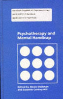 Psychotherapy and Mental Handicap