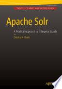 Apache Solr Book