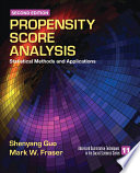 Propensity Score Analysis Book