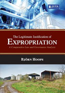 The Legitimate Justification of Expropriation
