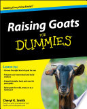 """Raising Goats For Dummies"" by Cheryl K. Smith"