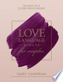 Love Language Minute For Couples Book PDF