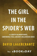 The Girl in the Spiders Web Book PDF