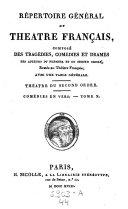 La Metromanie ou le Poete, comedie par Piron