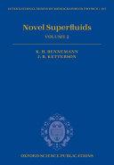 Novel Superfluids