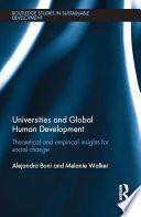 Universities and Global Human Development