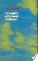 Principles of Literary Criticsim