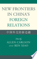 New Frontiers in China's Foreign Relations Pdf/ePub eBook