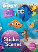 Disney Pixar Finding Dory Sticker Scenes