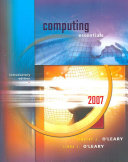 Cover of Computing Essentials 2007 Introductory Edition