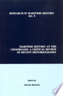 Maritime History at the Crossroads Book