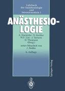 Lehrbuch der Anästhesiologie und Intensivmedizin