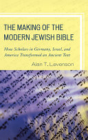 The Making of the Modern Jewish Bible