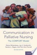 Communication in Palliative Nursing Book