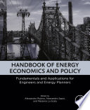 Handbook of Energy Economics and Policy