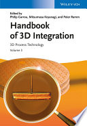 Handbook of 3D Integration  Volume 3 Book