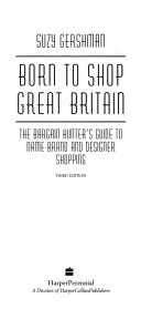 Born to Shop Great Britain Book