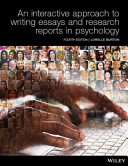 Cover of An Interactive Approach to Writing Essays and Research Reports in Psychology 4E Print on Demand (Black and White)