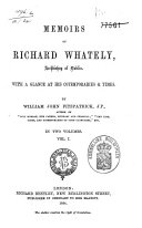 Memoirs of Richard Whately