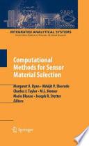 Computational Methods for Sensor Material Selection Book