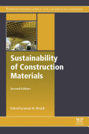 Pdf Sustainability of Construction Materials