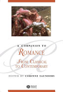 A Companion to Romance Pdf/ePub eBook