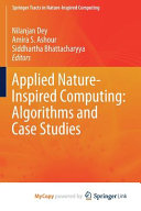 Applied Nature Inspired Computing  Algorithms and Case Studies