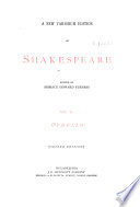 Othello Ed By H H Furness