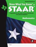SWYK on STAAR Math Gr. 6, Student Workbook