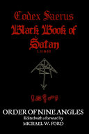 CODEX SAERUS - BLACK BOOK of SATAN I,2 And 3