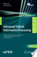 Advanced Hybrid Information Processing Book