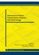 Advances in Power Transmission Science and Technology Pdf/ePub eBook