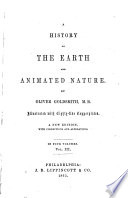 A History of the Earth and Animated Nature Book PDF