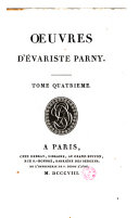 Oeuvres d'Evariste Parny