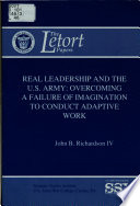 Real Leadership and the U S  Army Book