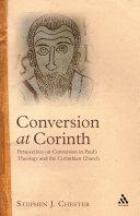 Conversion at Corinth