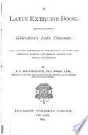 A Latin Exercise book