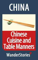 Chinese Cuisine and Table Manners Pdf/ePub eBook
