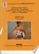 Socioeconomic Impact and Farmer's Assessment of Nile Tilapia (Oreochromis Niloticus) Culture in Bangladesh